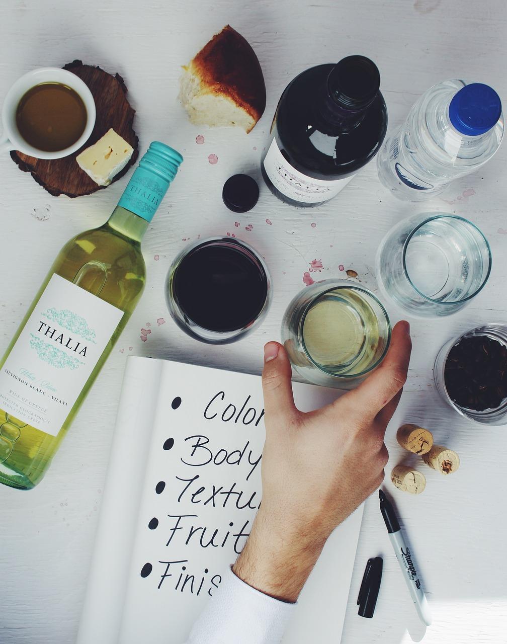 výběr vína